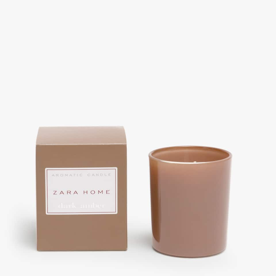 Dark Amber Aromatic Candle