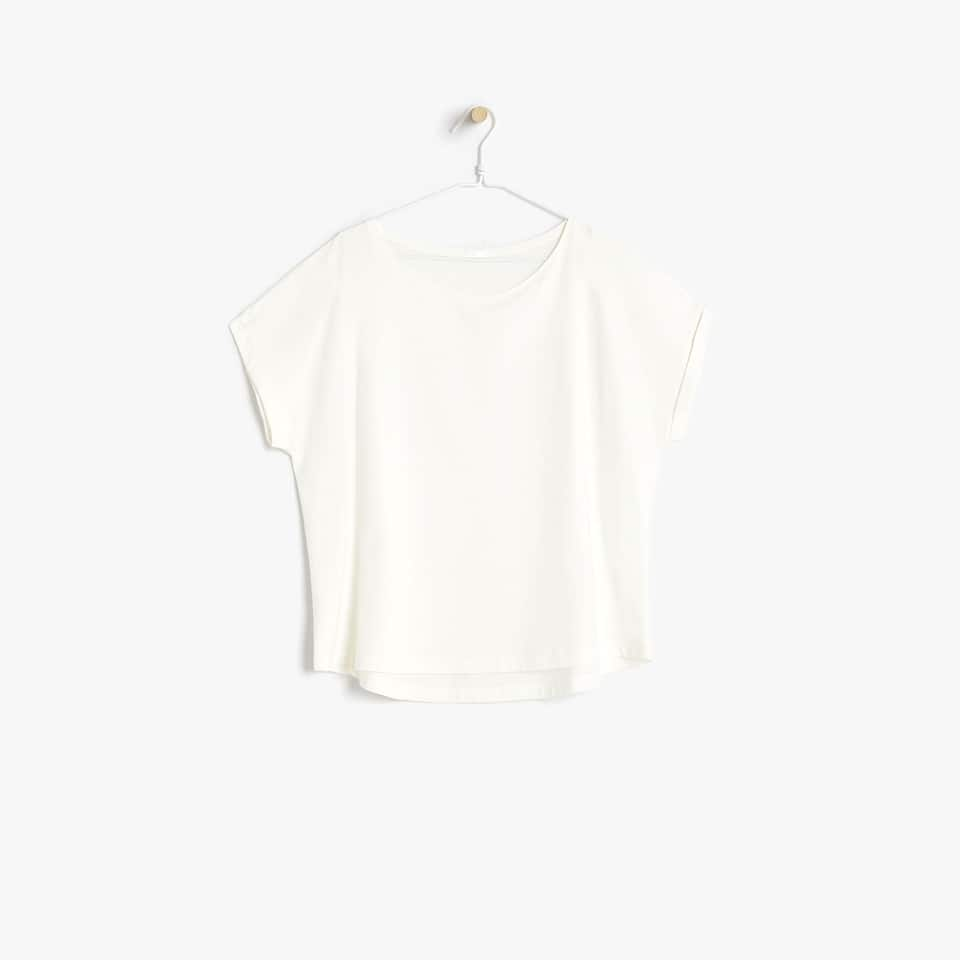 BASIC ROUND NECK COTTON T-SHIRT