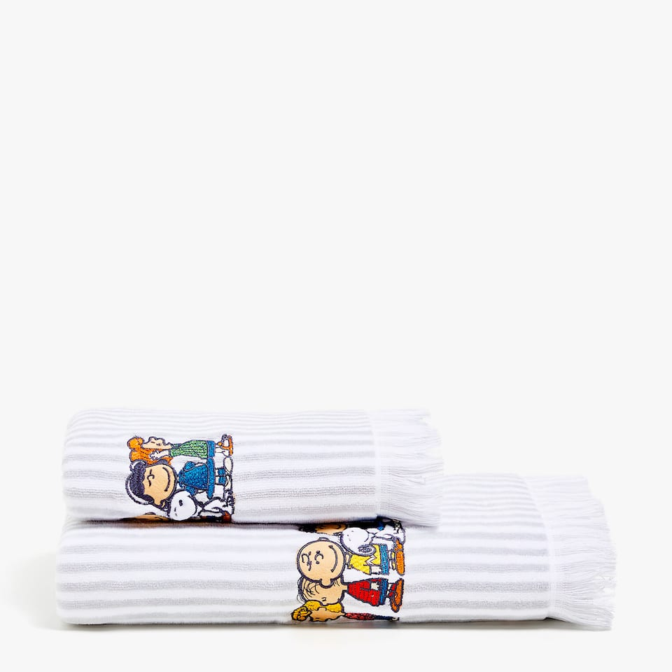 KIDS TOAL ALG VELOUR C BORD SNOOPY