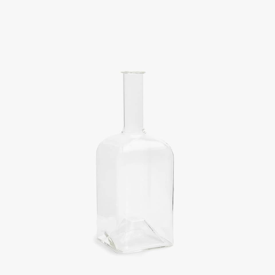 HEXAGONAL BOROSILICATE BOTTLE