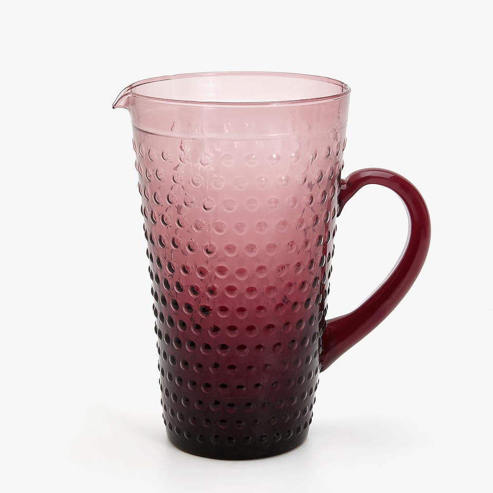RAISED POLKA DOTS PITCHER
