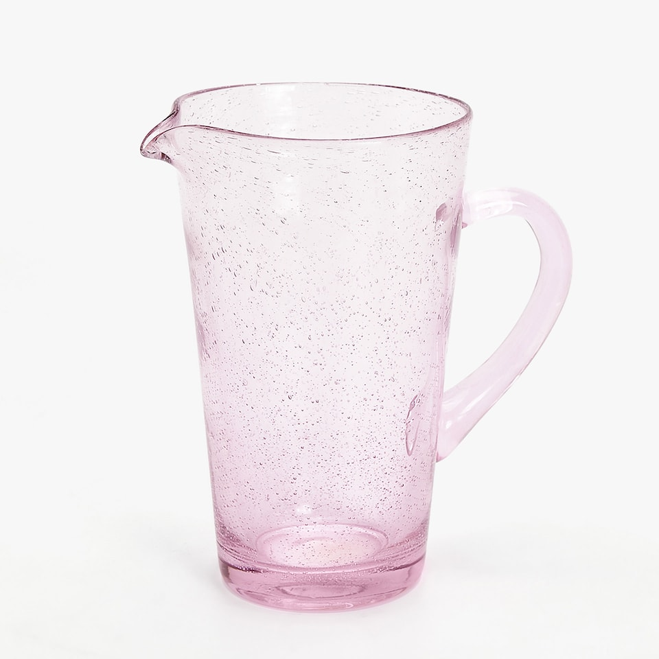 BUBBLES-EFFECT PITCHER
