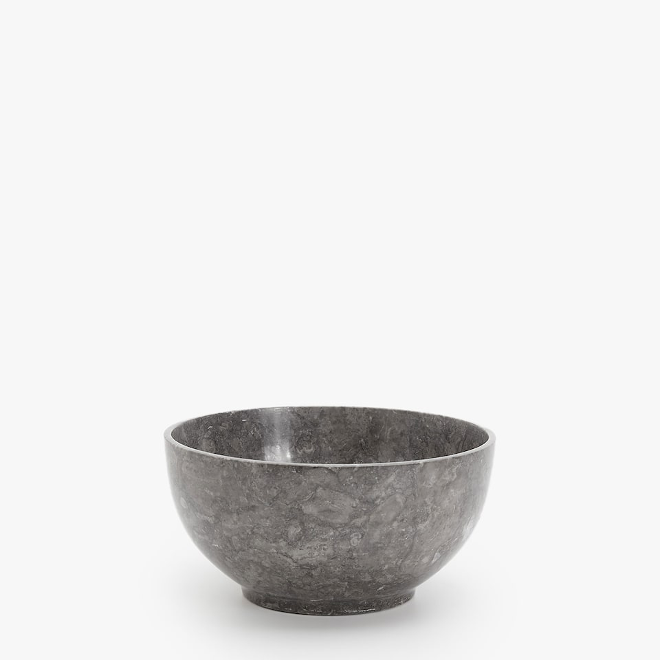 POLISHED STONE BOWL
