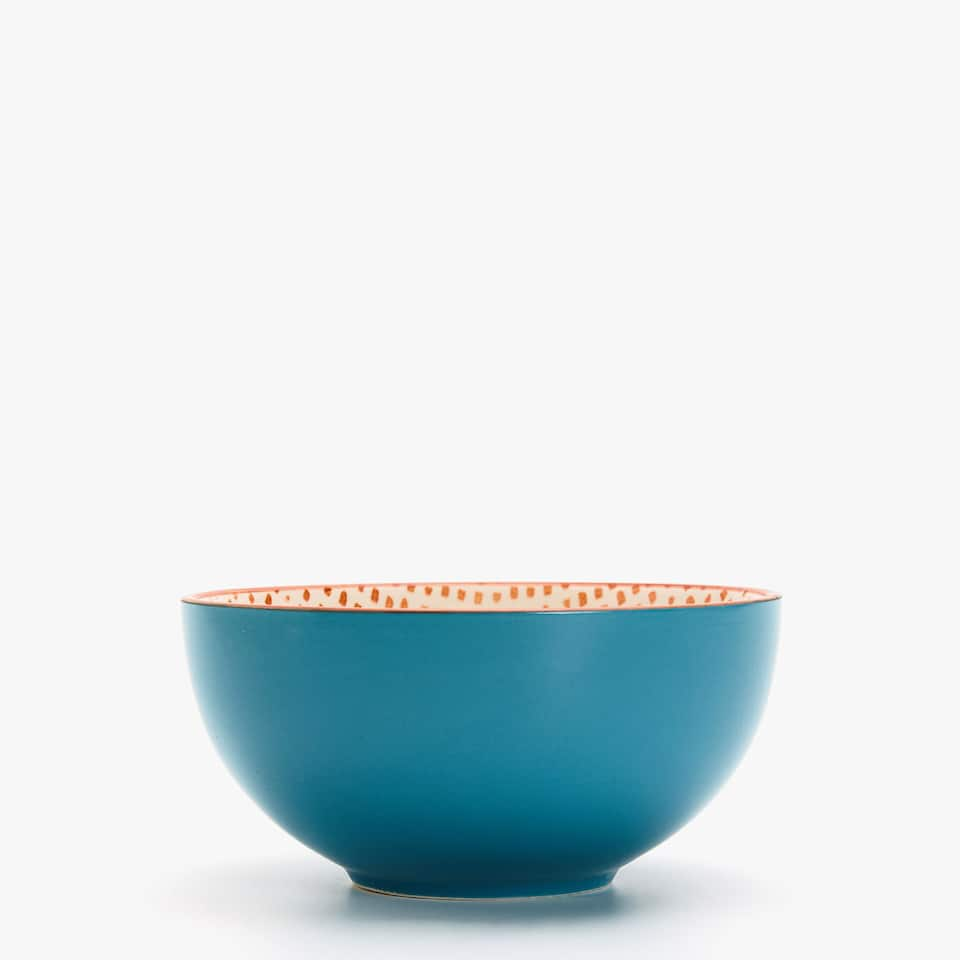 TWO-TONE INTERIOR DESIGN BOWL