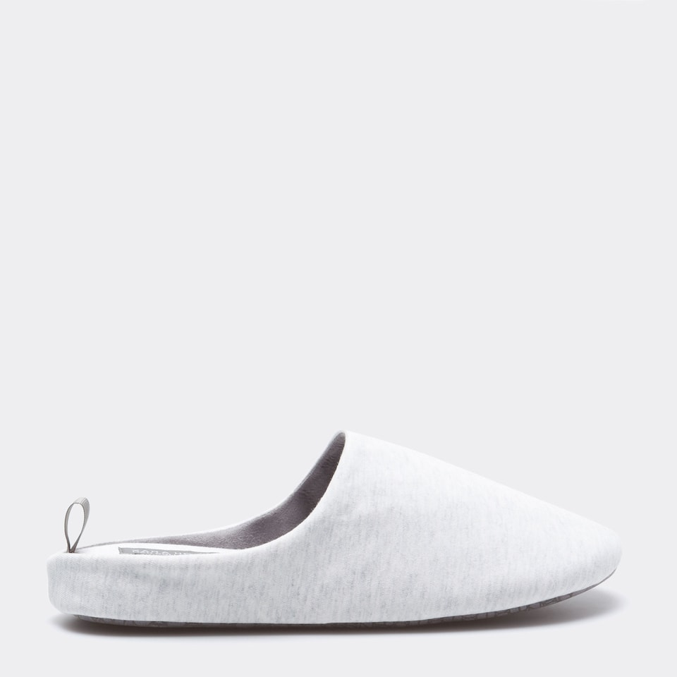 JERSEY FABRIC SLIPPERS