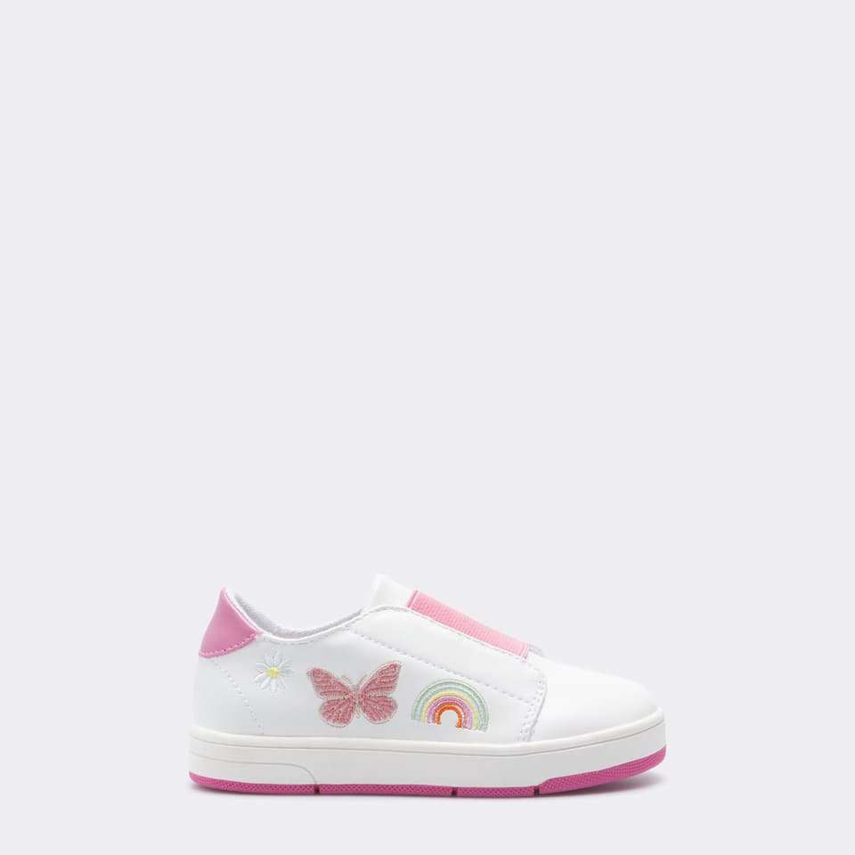 GIRL PATCHES SNEAKERS