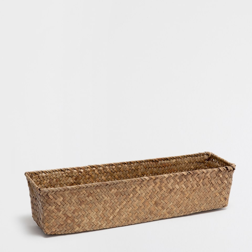 BROWN LONG BASKET