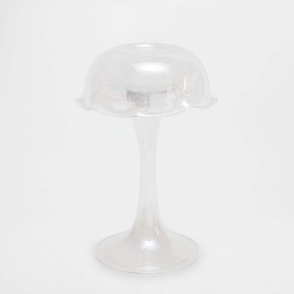 JELLYFISH-SHAPED GLASS CANDLEHOLDER