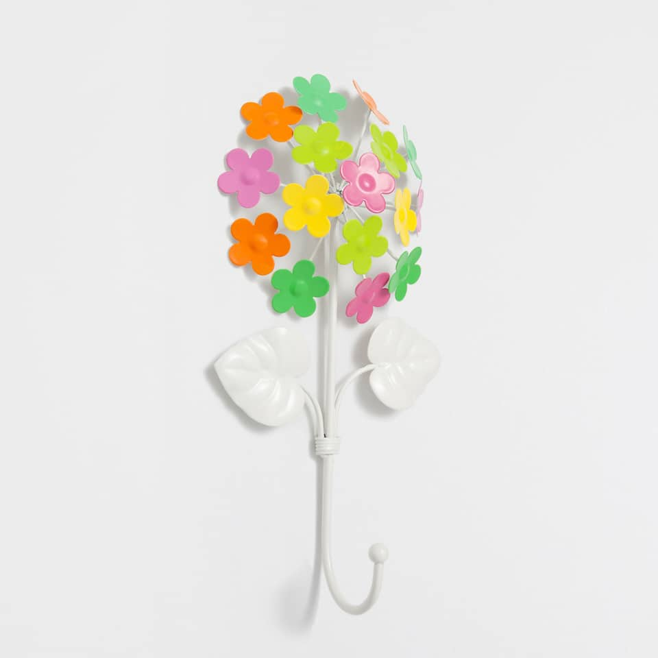 Multicolour flowers hook