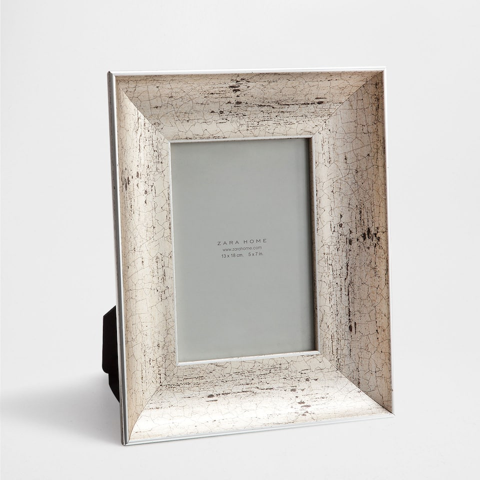 GREY ANTIQUE-FINISH FRAME