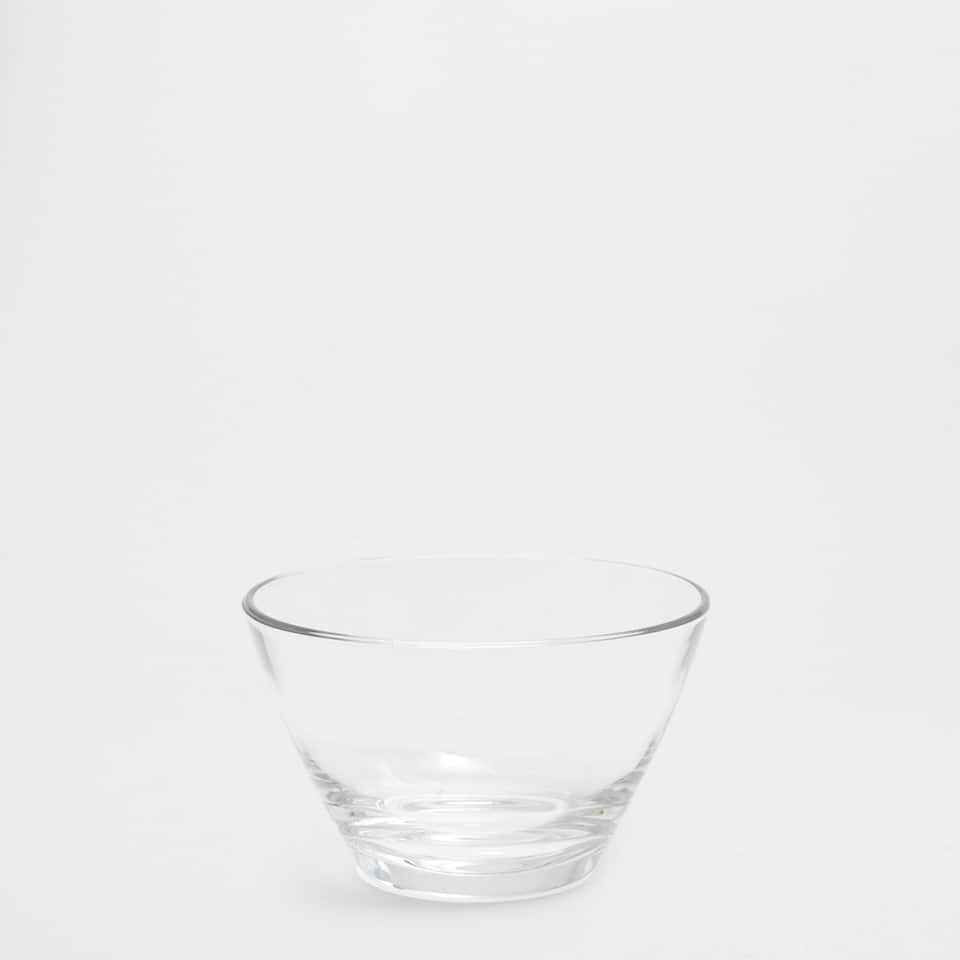 Classic glass bowl