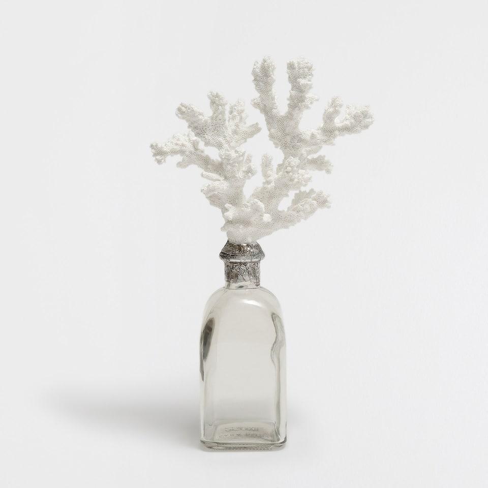 Decorative coral bottle