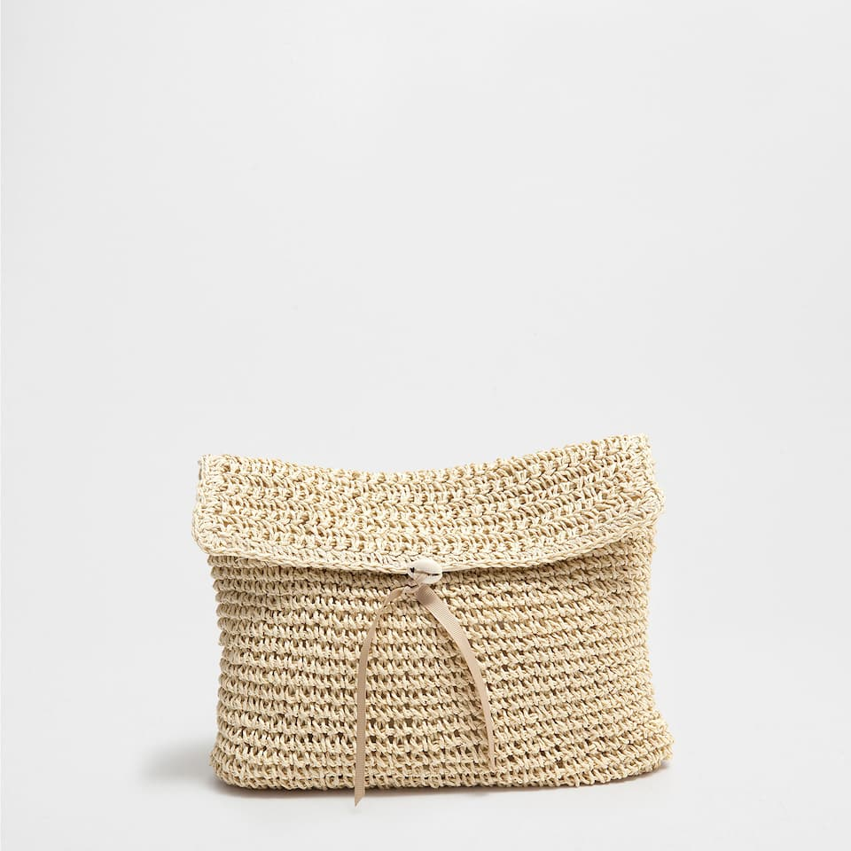 Plaited toiletry bag