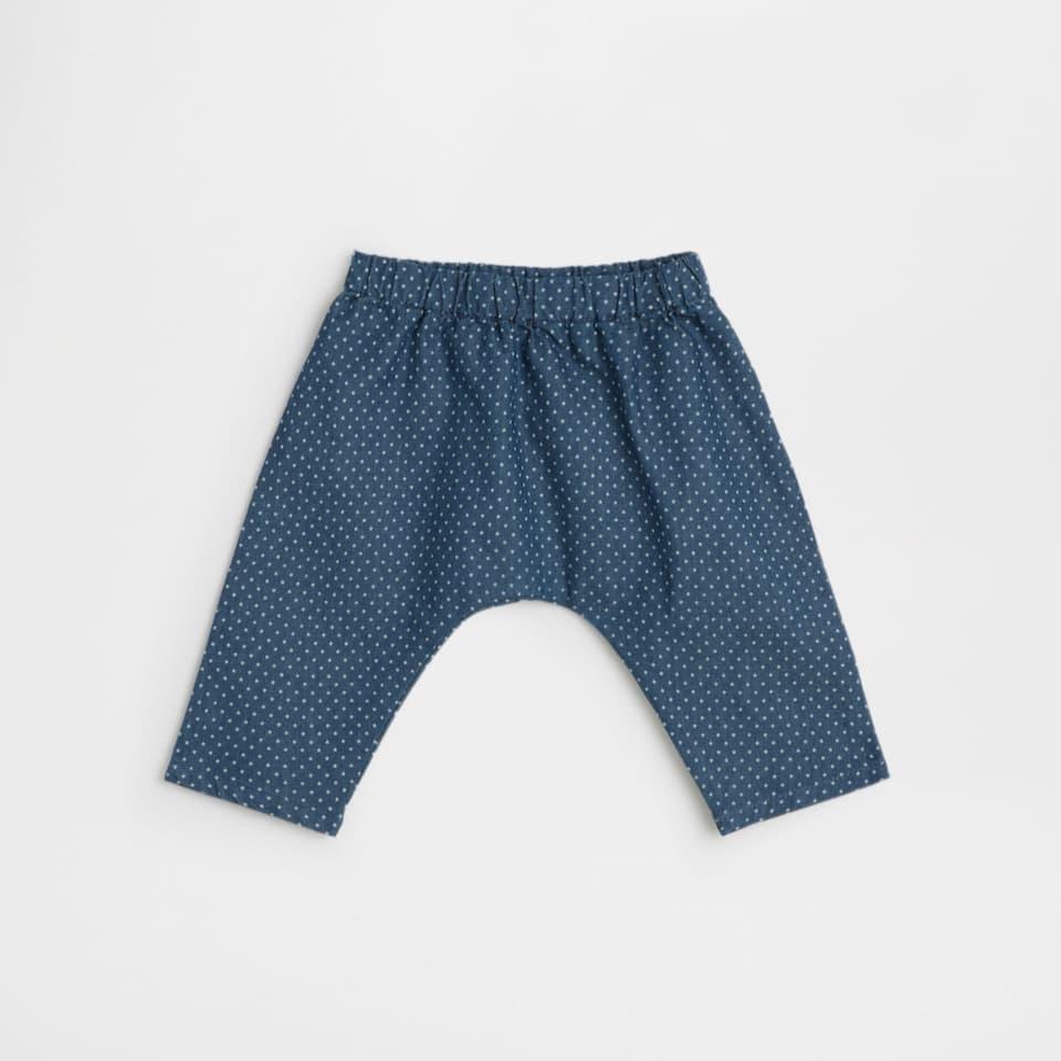 Mini stars cotton trousers