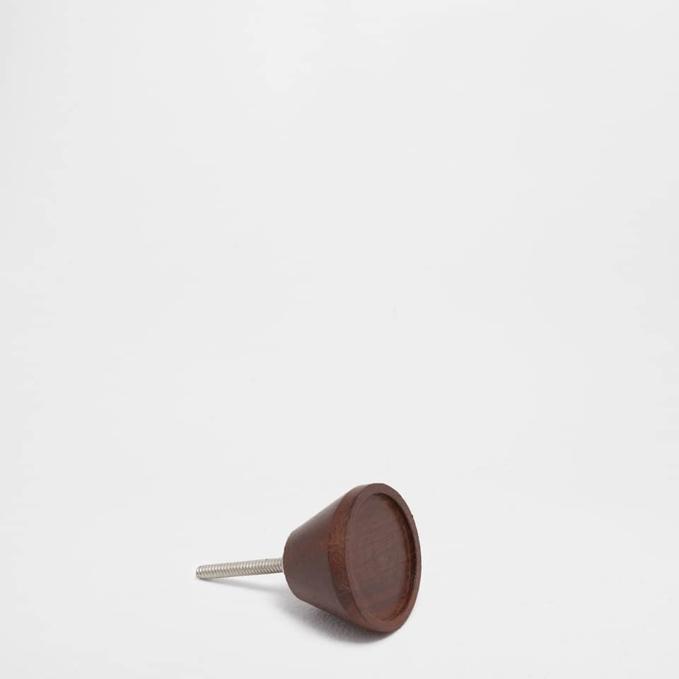 Round wooden handle (set of 2)