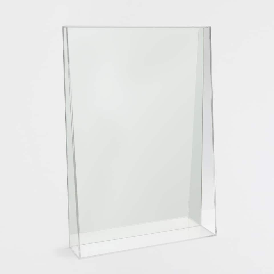 Irregular methacrylate mirror
