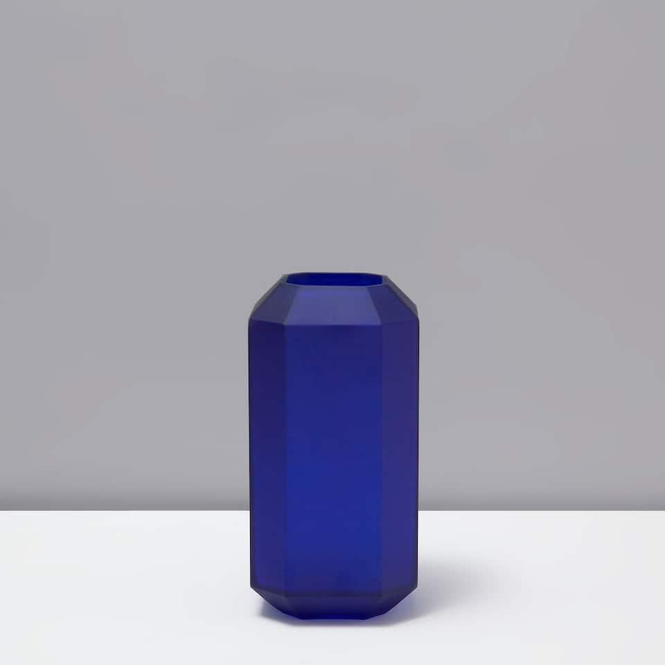 フロスティジオメトリック花瓶