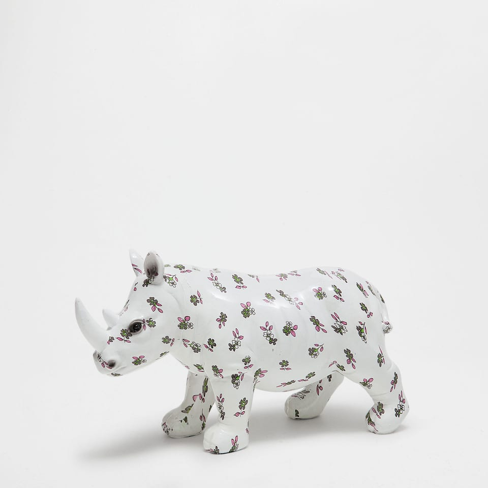 Rhinoceros decorative figure
