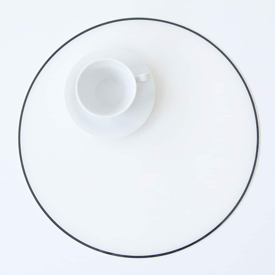 Methacrylate placemat