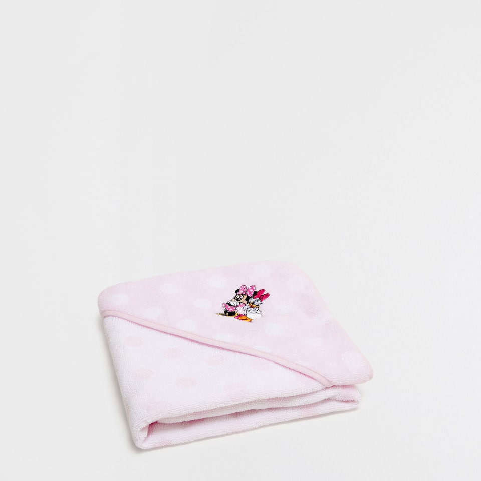 Minnie & Daisy embroidered towel