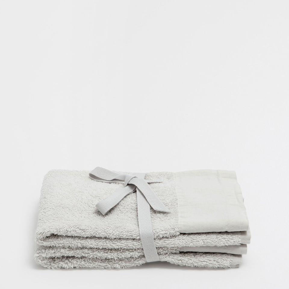 WASHED EFFECT TOWEL (SET OF 2)