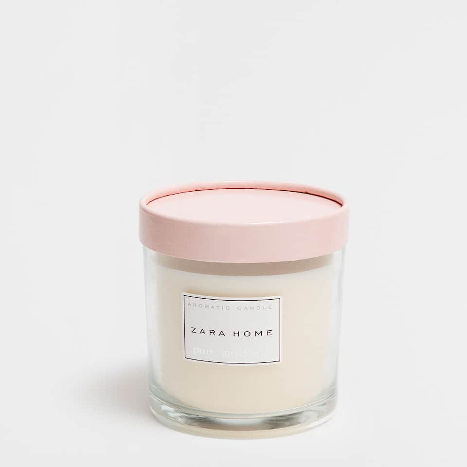 Pure Gardenia Cylindrical Candle