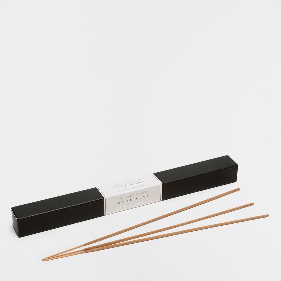 Black Vanilla Incense
