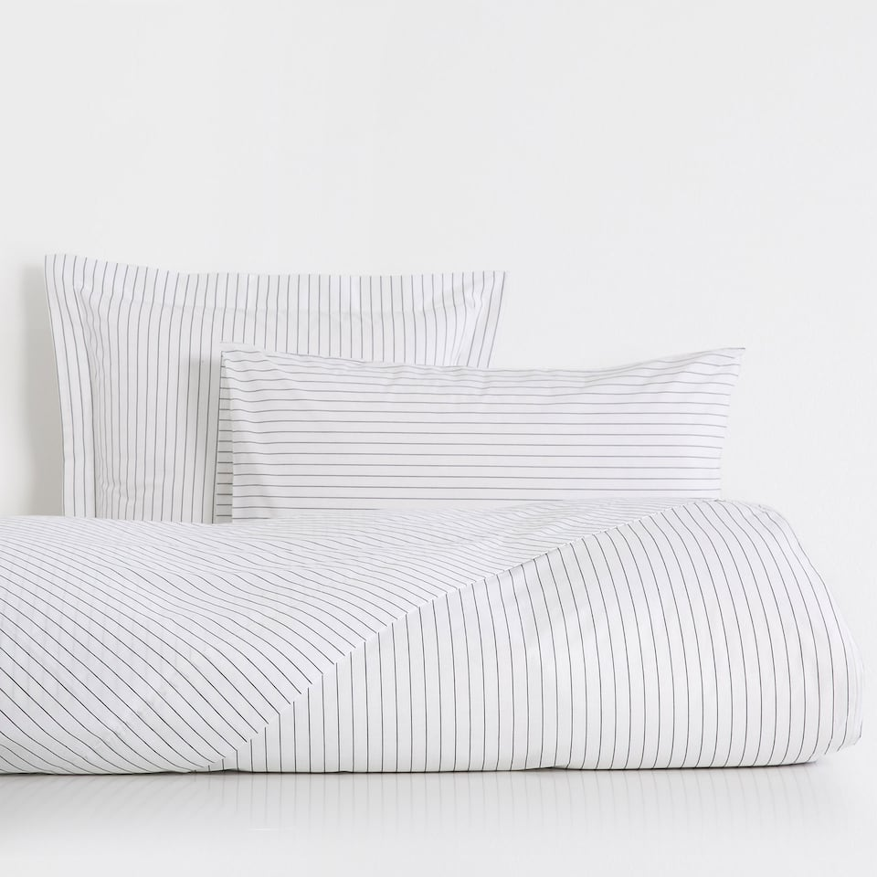 Dyed Thread Percale Cotton Duvet Cover
