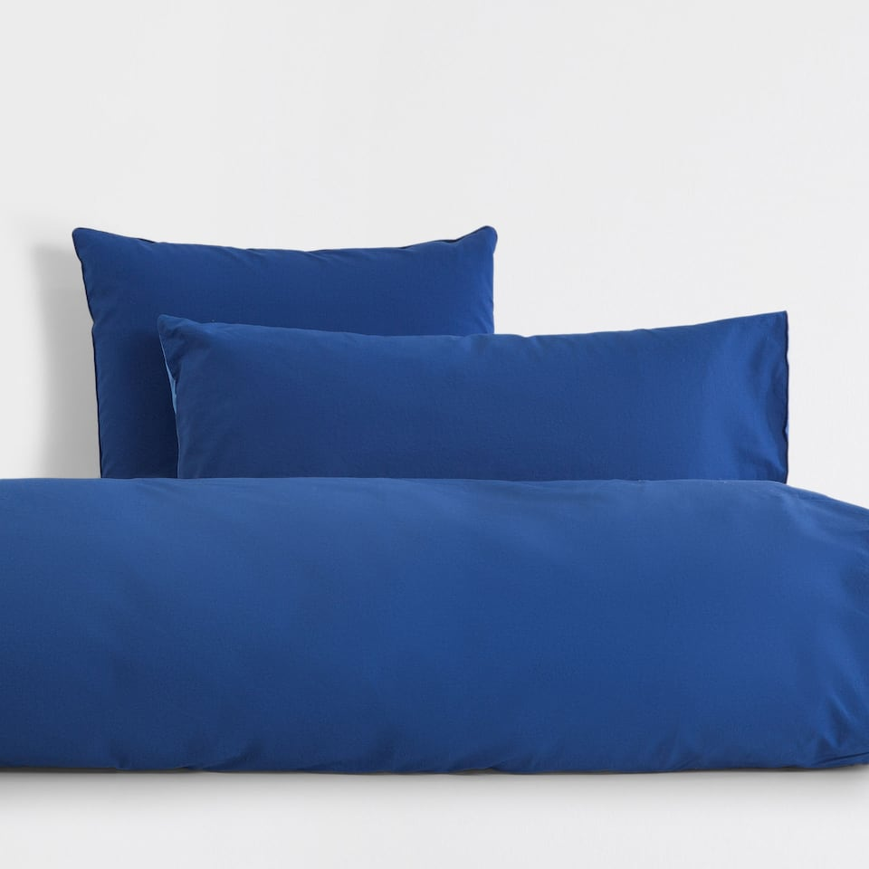 Two-tone Percale Duvet Cover