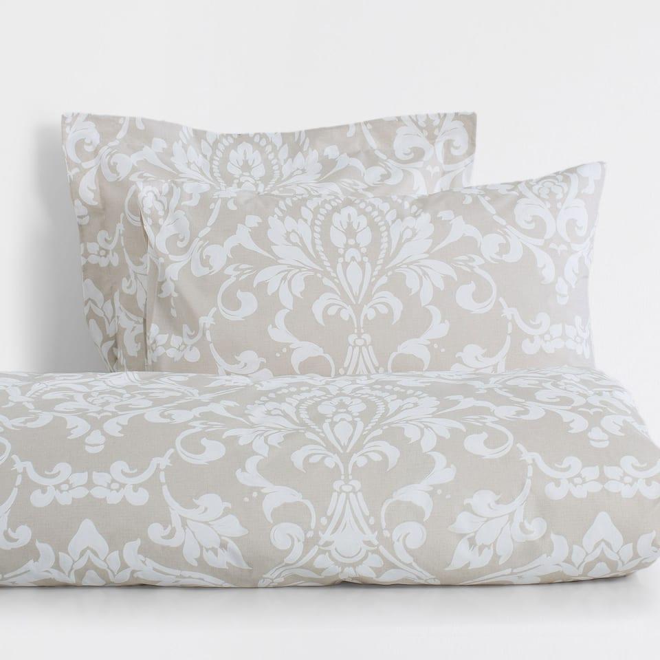 Wallpaper Print Percale Cotton Duvet Cover