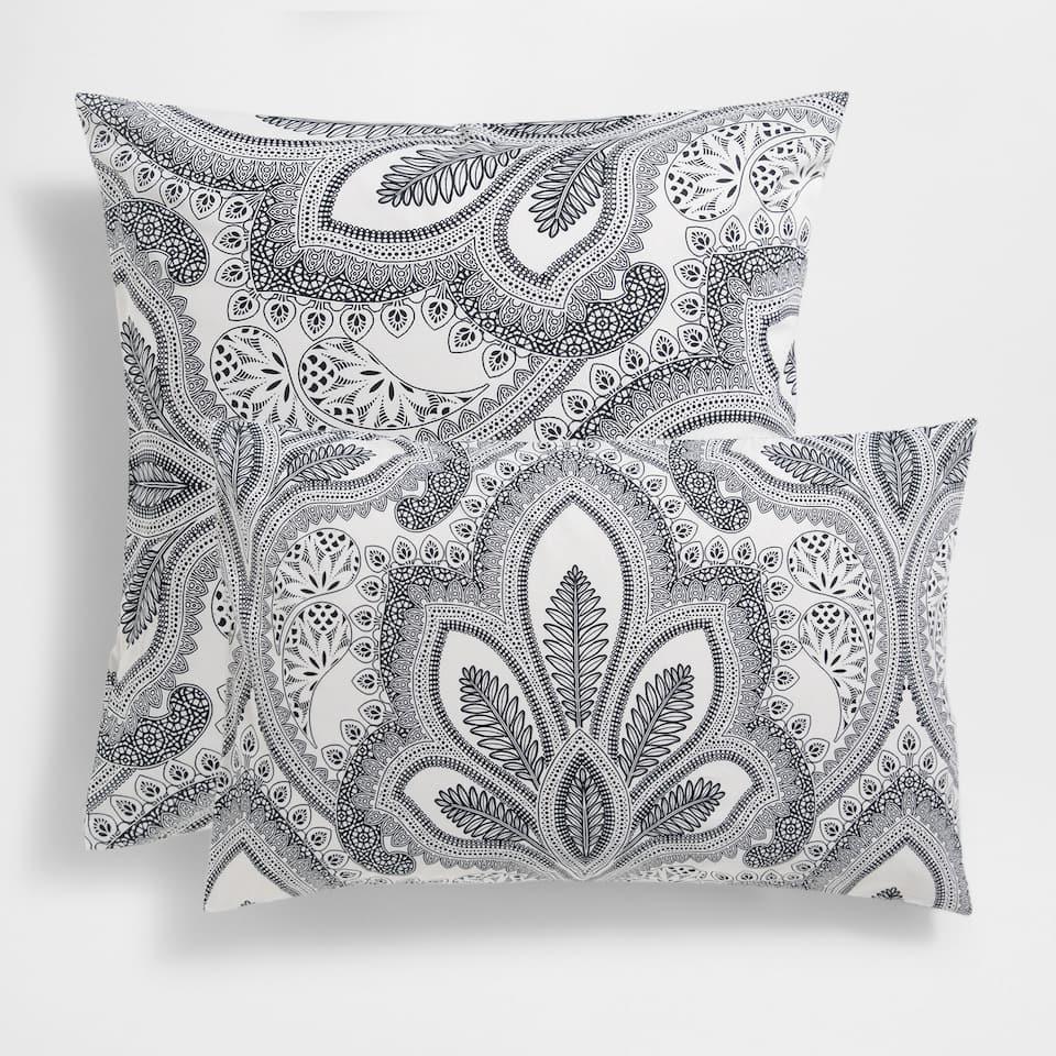 Floral Paisley Print Pillow Case