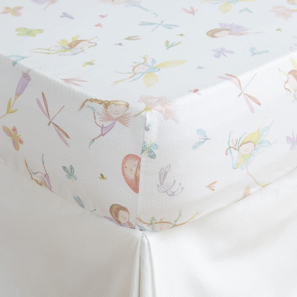 Fairies Print Bottom Sheet