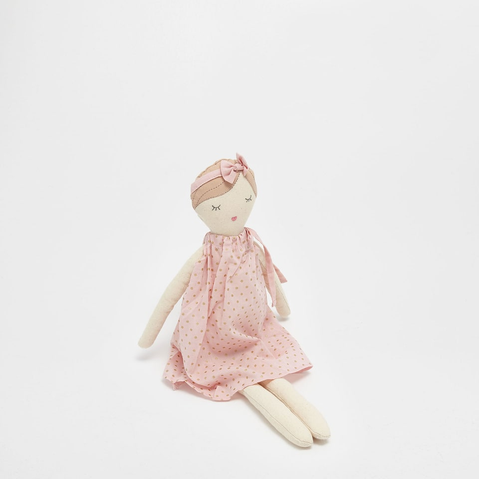 Ballet dancer soft toy