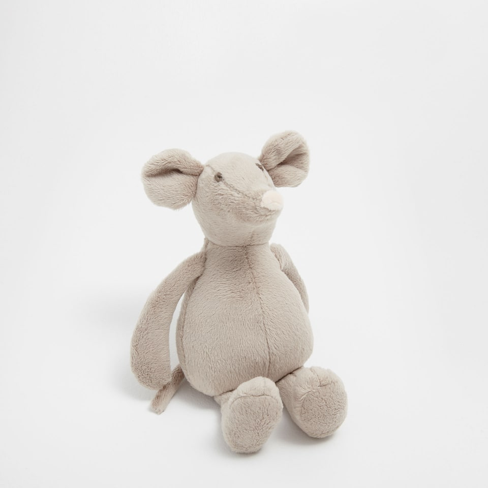 Girl mouse soft toy