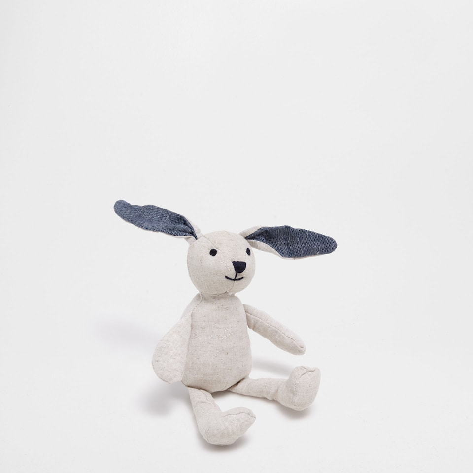Bunny soft rattle toy