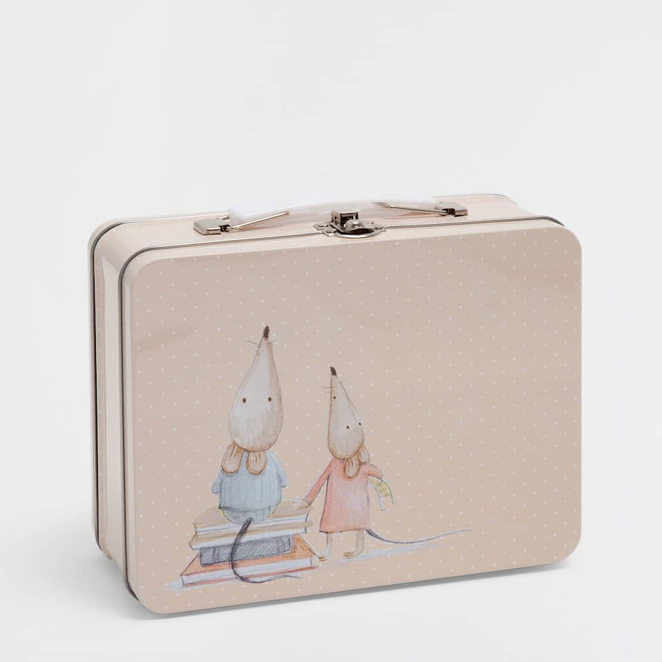 Mice tin case