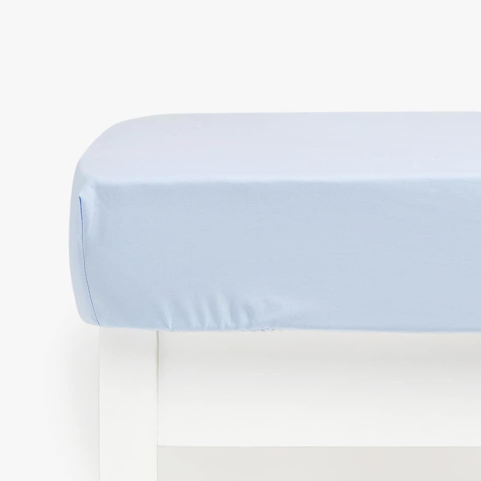Kids Basic Percale Bottom Sheet (mattress of up to 40 cm thick)