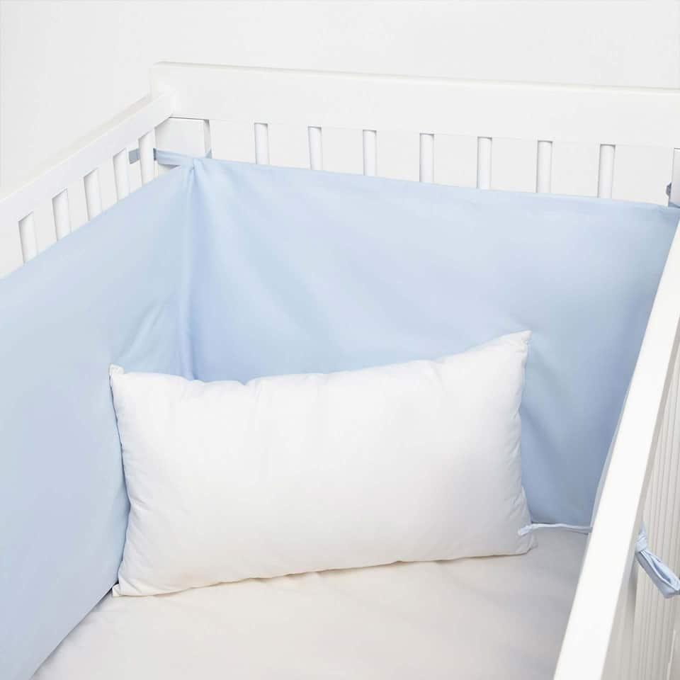 Housse pour lit bébé percale kids basic