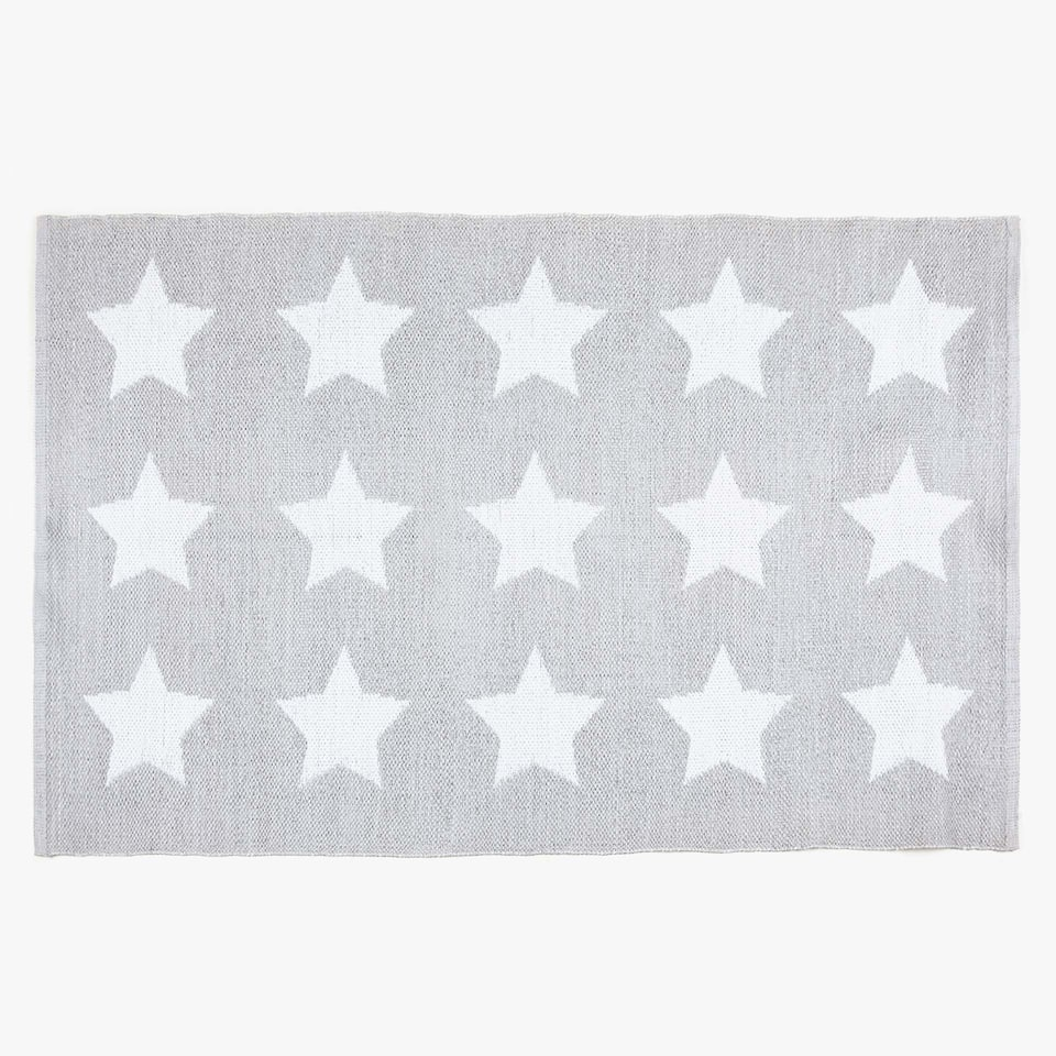 WHITE STARS RUG (OUTDOOR AND INDOOR)