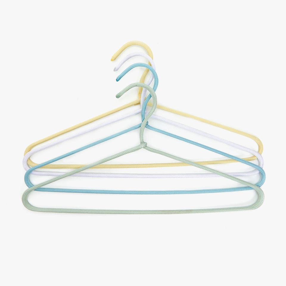 MULTICOLOURED HANGER (SET OF 4)