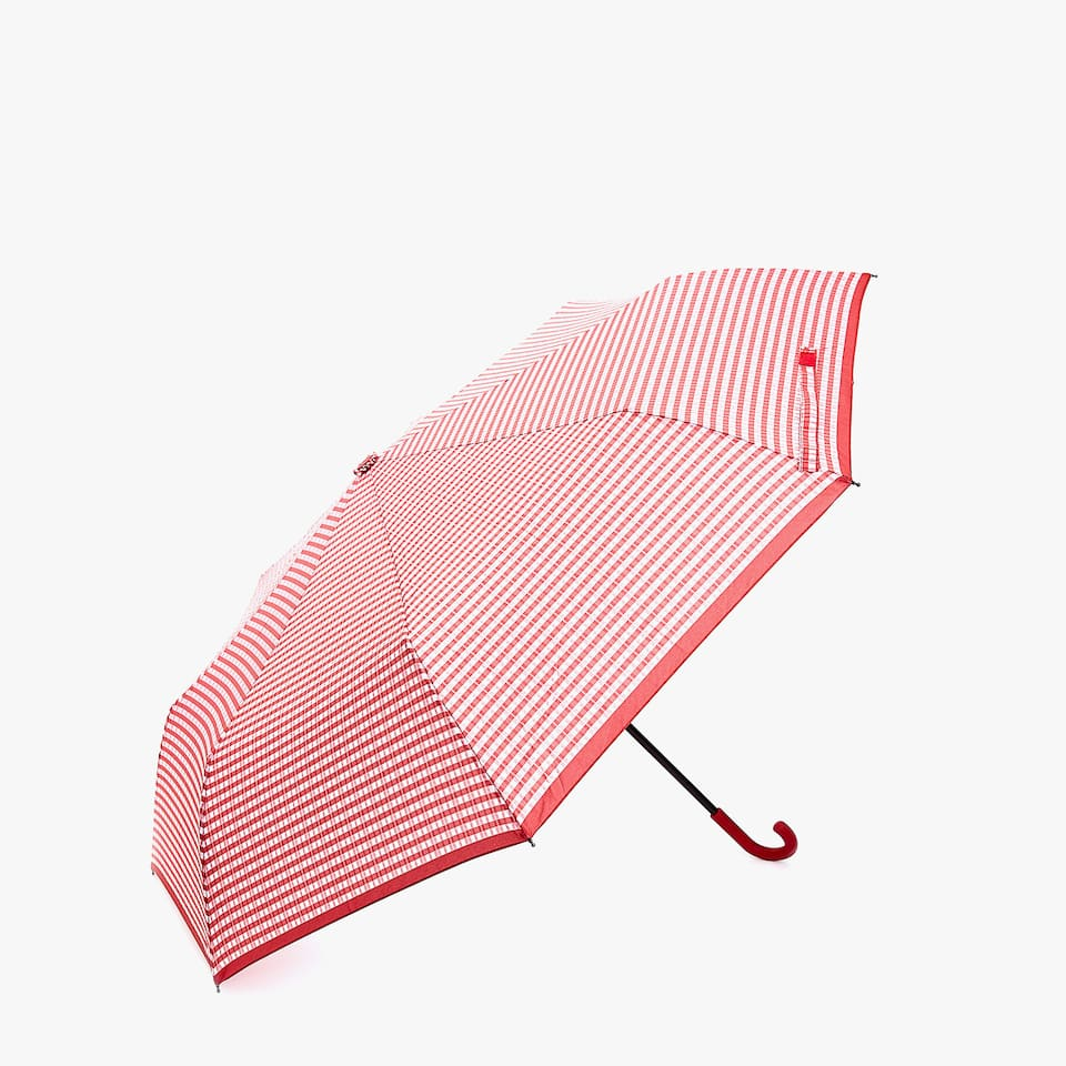 CHECK PRINT UMBRELLA