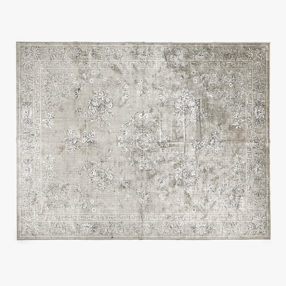 FLORAL WOVEN RUG