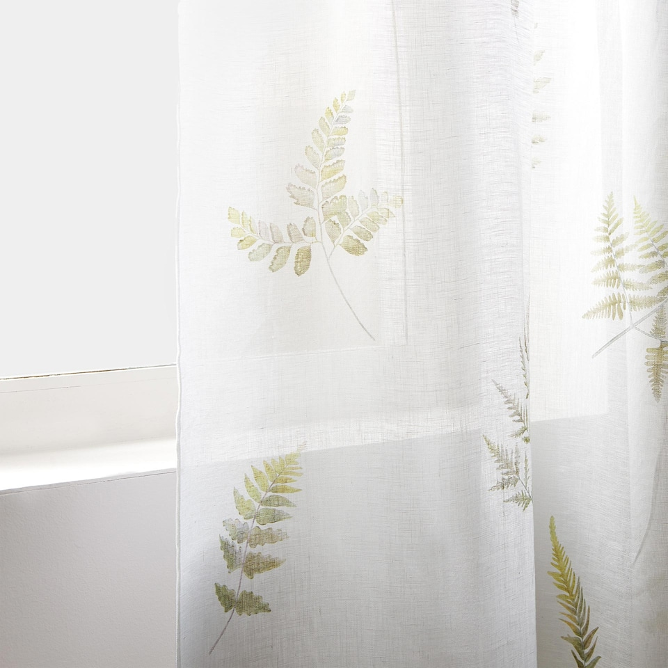 PRINTED LINEN CURTAIN