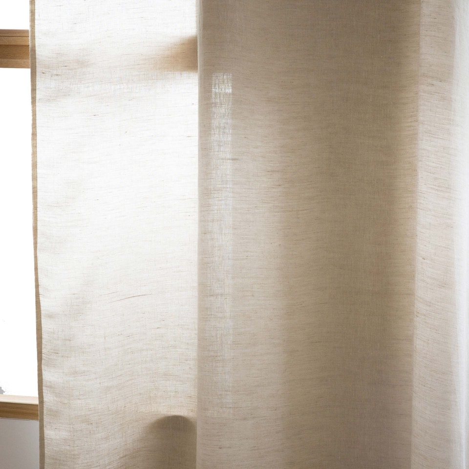 OVERLOOK WASHED LINEN CURTAIN