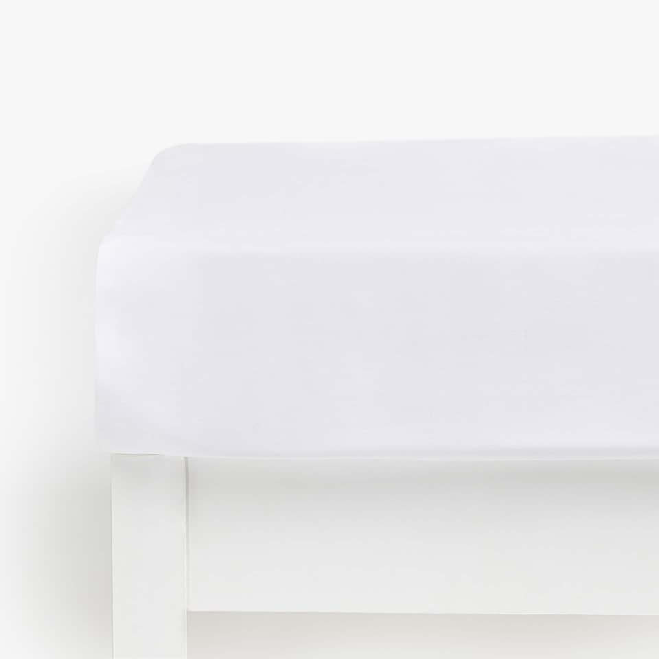 Bettlaken aus Satin (bis 28 cm Höhe)
