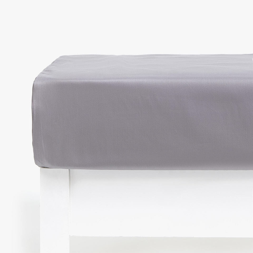 Sateen Bottom Sheet (mattress of up to 40 cm thick)