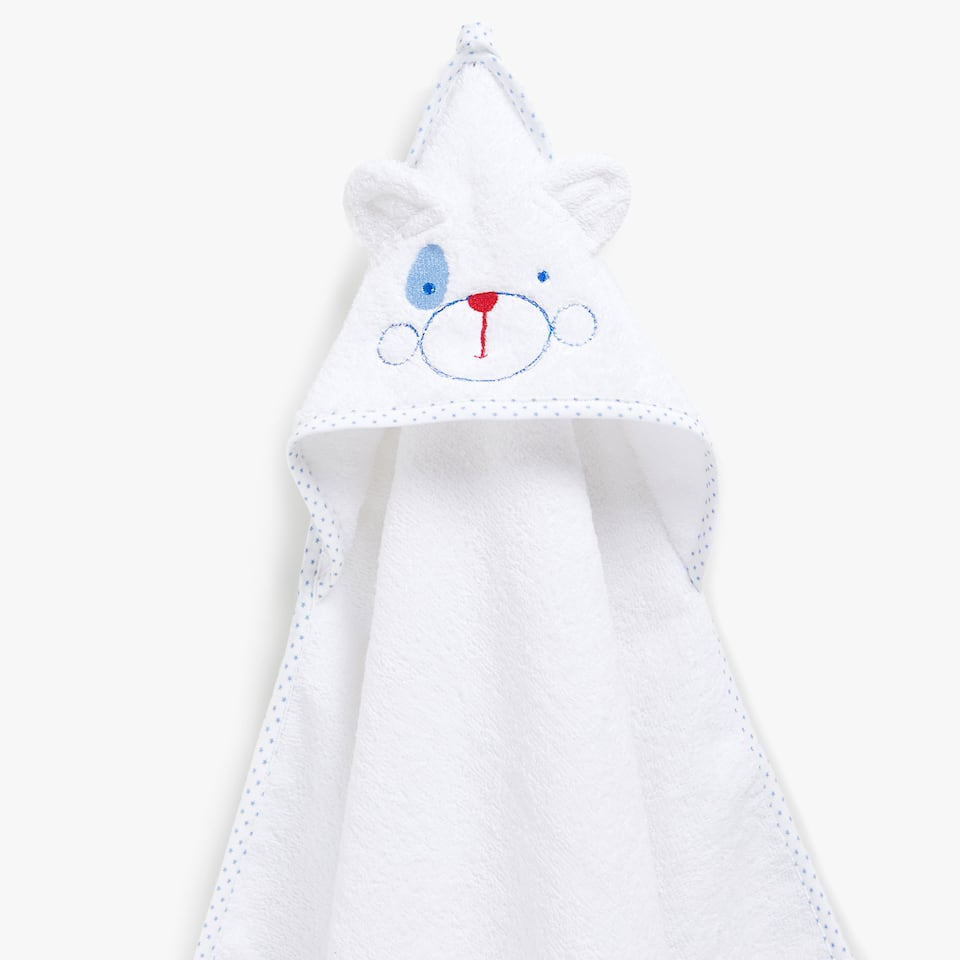 PUPPY COTTON BABY TOWEL