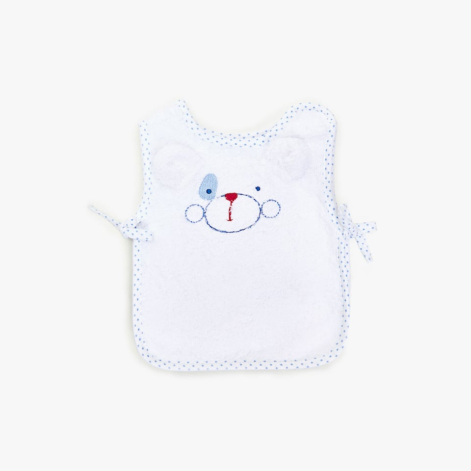 PUPPY COTTON BIB
