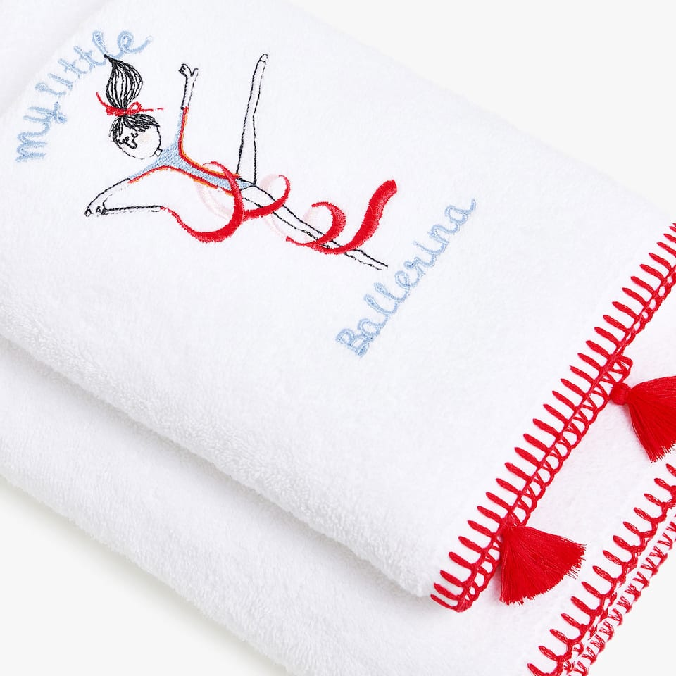 BALLERINA COTTON TOWEL