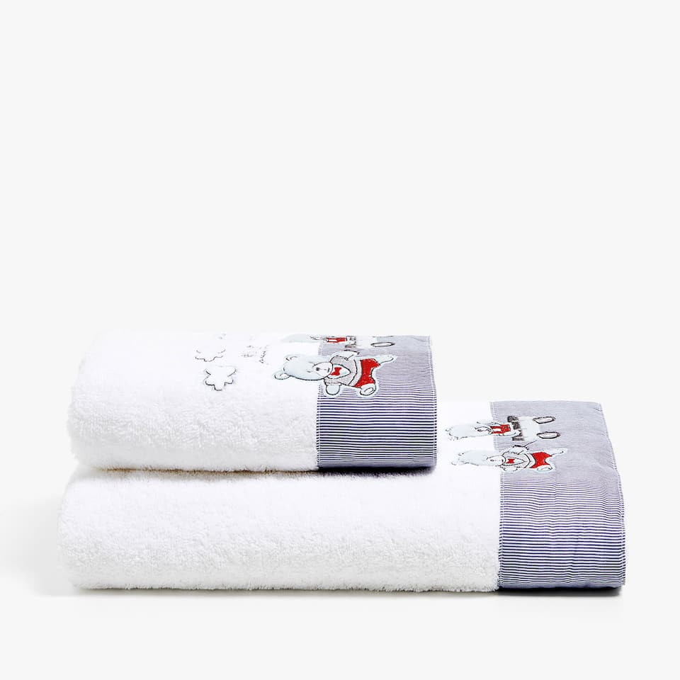 TEDDY BEAR COTTON TOWEL